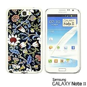 OnlineBestDigital? - Flower Pattern Hardback Case for Samsung Galaxy Note 2 - Evenlode 2