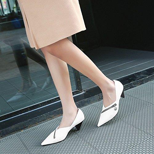 Heels heels White Jqdyl Stilettos Tips High Women'S Shoes Fashion w7qZAXZ5