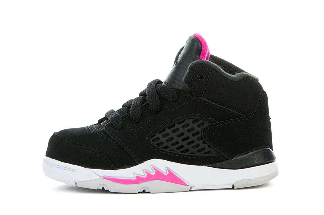 competitive price 29c76 a8025 Amazon.com | Jordan Nike Toddler 5 Retro Girls Fashion ...