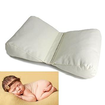 Sunmig Newborn Baby Photography Butterfly Posing Pillow Basket Filler Photo Prop Grey