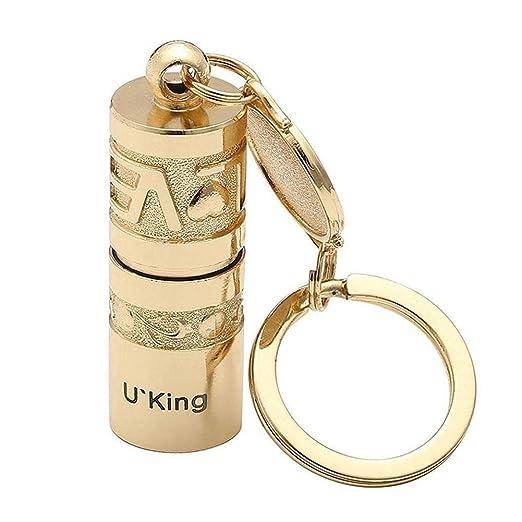 AngryMan Golden Mini Linterna portátil LED Linterna lámpara ...