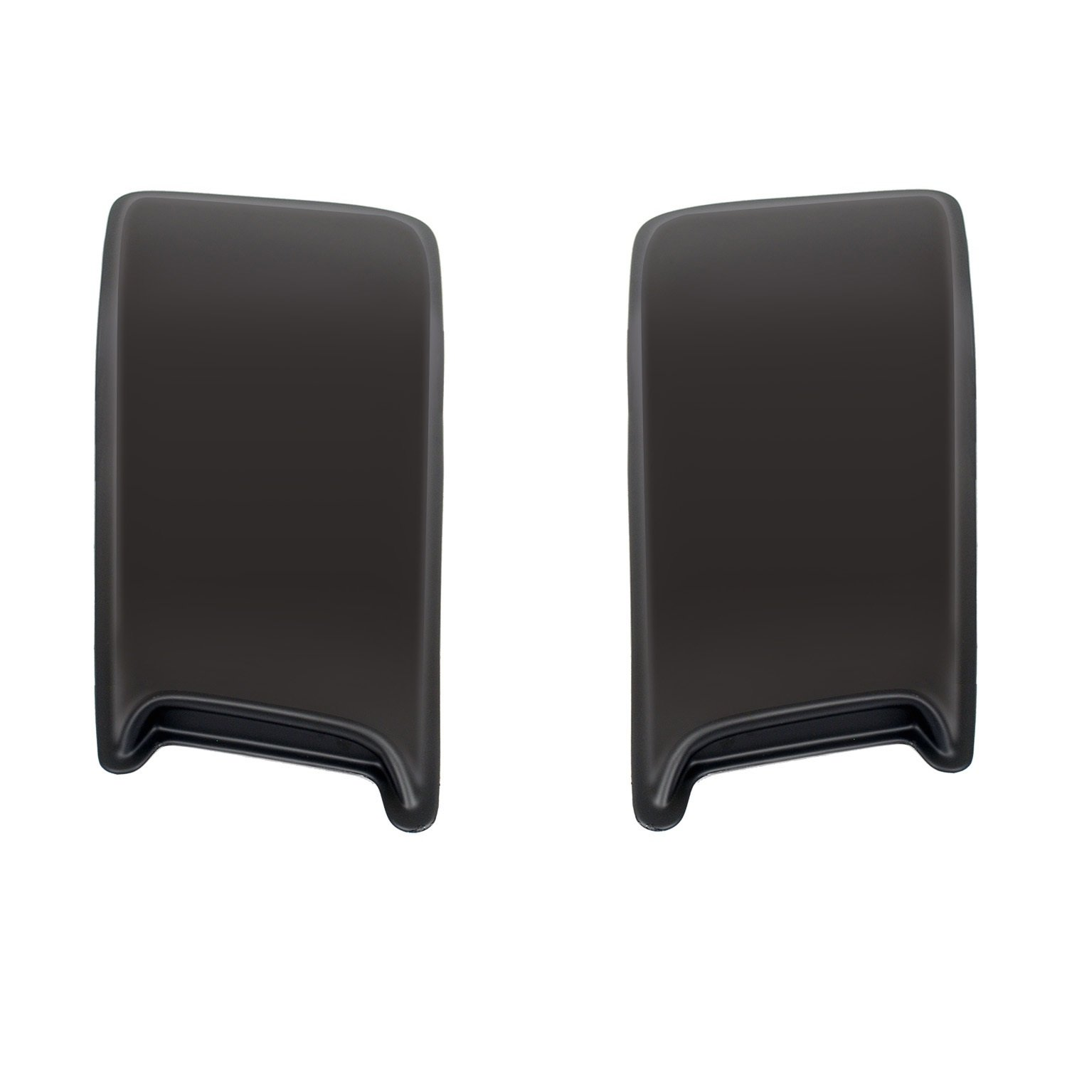 Wade 72-13001 30' Paintable Hood Scoops With Smooth Finish - Pack of 2 Westin 72-3001