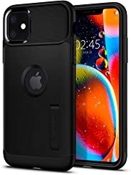 Capa iPhone 11 Spigen Slim Armor Black, Spigen, Capa Anti-Impacto, Preto