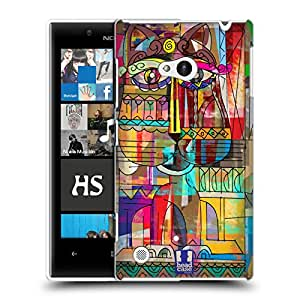 Head Case Designs Burmilla Aztec Cat Hard Back Case Cover for Nokia Lumia 720