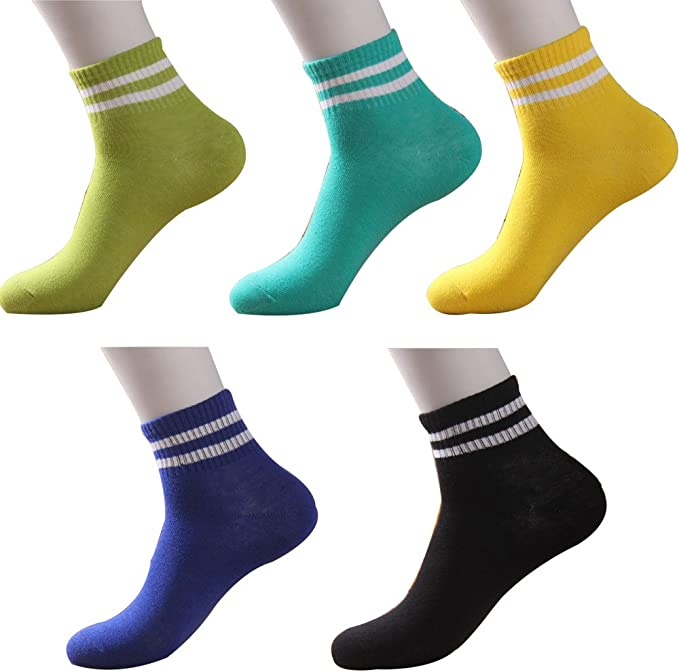 Colorful Electric Vehicle Unisex Funny Casual Crew Socks Athletic Socks For Boys Girls Kids Teenagers