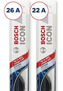 Bosch ICON Wiper Blades (Set of 2) Fits 2016-09 Toyota Venza;
