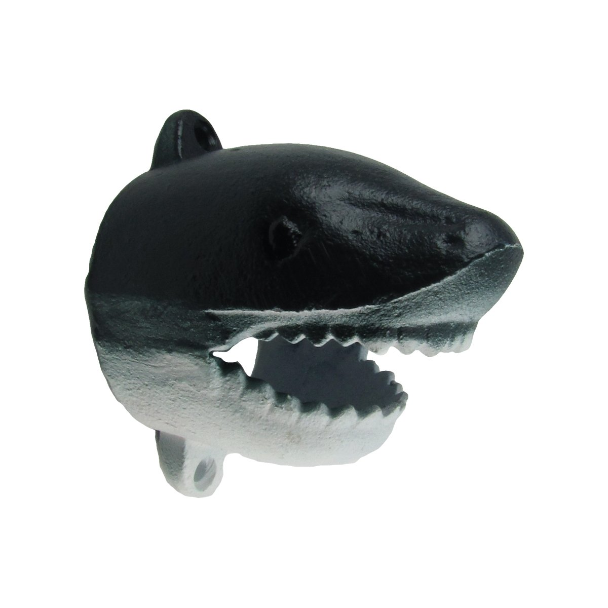 Cast Iron Shark Head Beer Cap Soda/Pop Top Wall Mount Bottle Opener Bar/Pub Tool