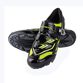 Zapatillas de bicicleta de carretera,Zapatillas de montaña ligeras y transpirables autoblocantes para hombres,