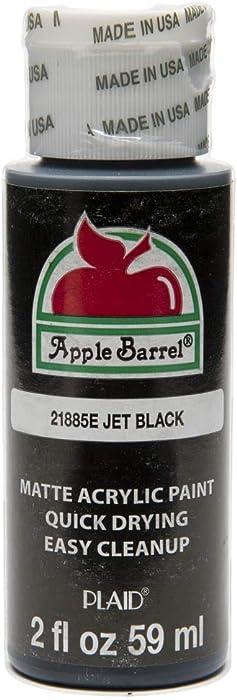 Top 10 Apple Barrel Acrylic Paints Jet Black