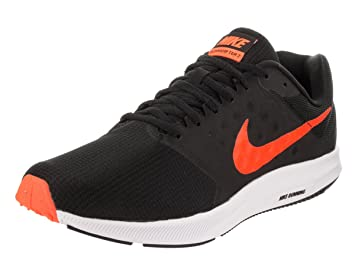 ddb6bcbc1d5c3 Nike Mens Core Running Downshifter 7 - Black Total Orange  Amazon.co ...