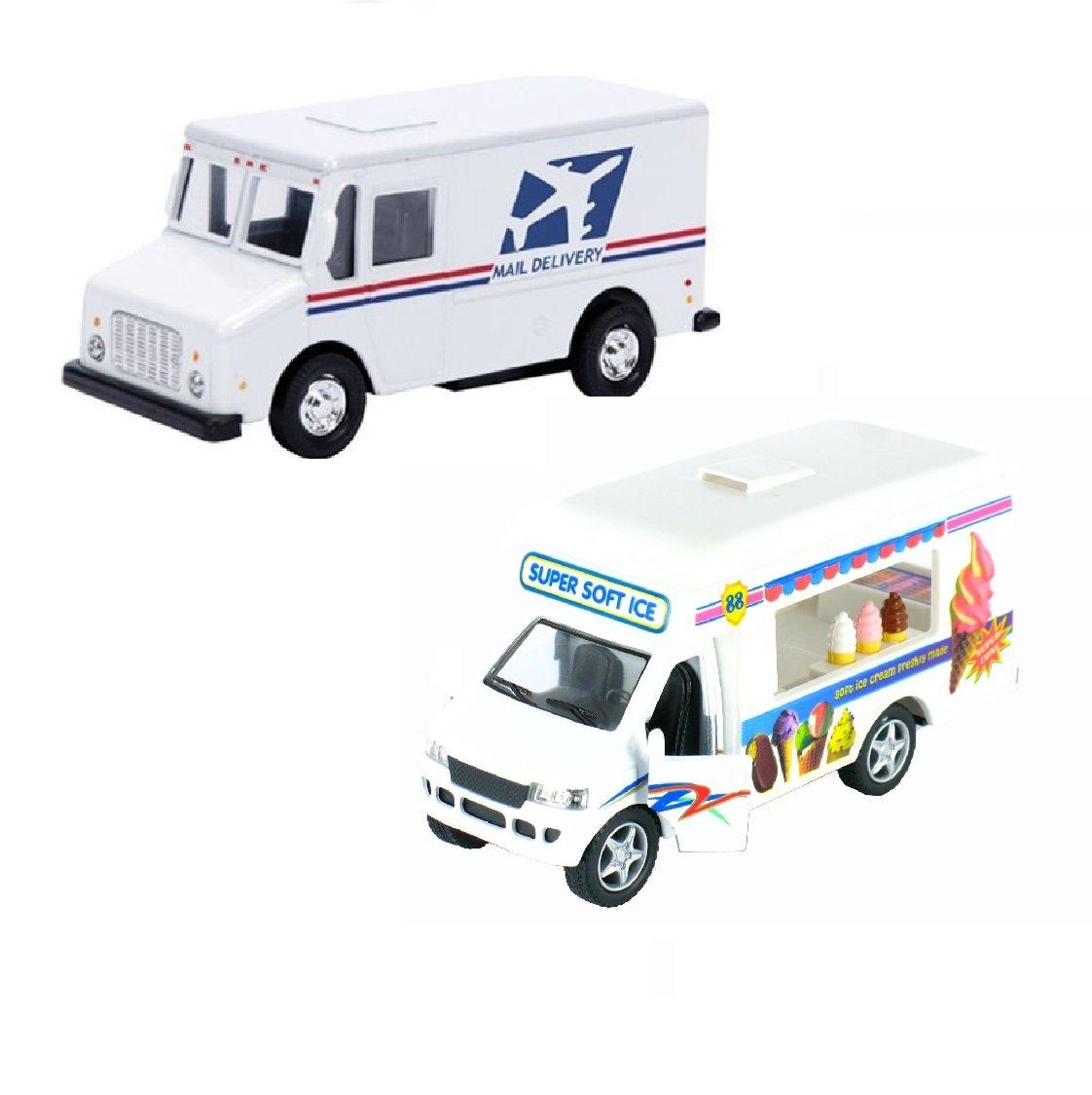 Postal Service Kid's Toy Truck (2 Trucks(USPS-Ice Cream))