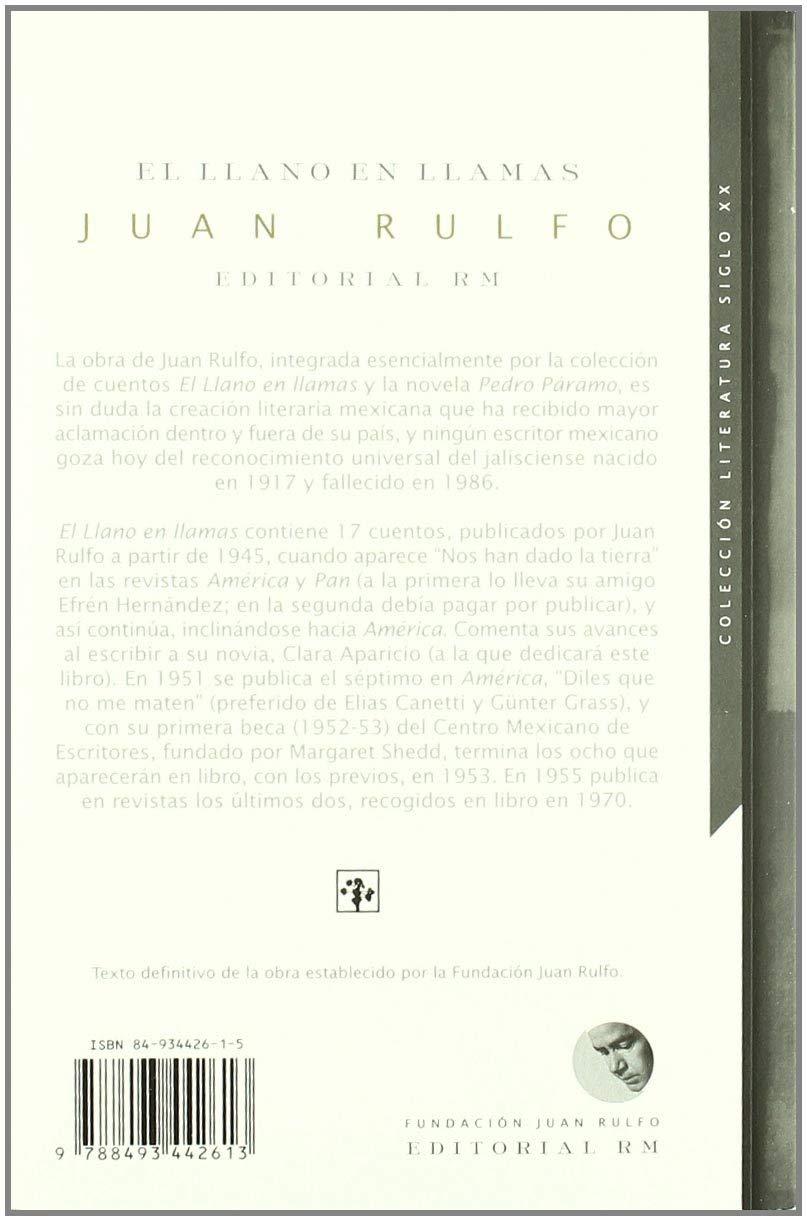 El Llano en Llamas: Amazon.es: Rulfo, Juan: Libros