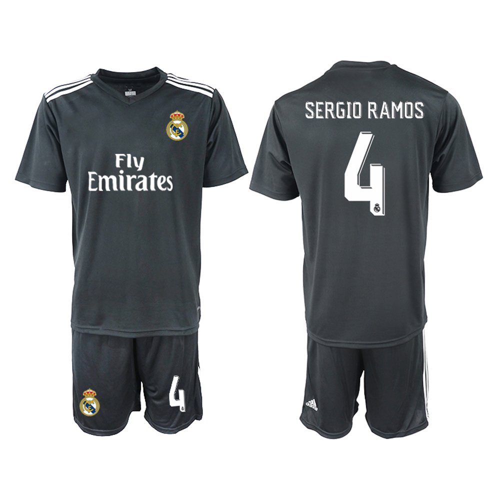 7c1262dcf9a FASjey 2018 19 New Real Madrid Sergio Ramos Away Men s Soccer Jersey