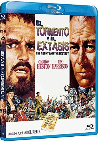 THE AGONY AND THE ECSTASY (El Tormento Y El Extasis) BLU RAY - All Regions - Import - Charlton Heston ; Rex Harrison