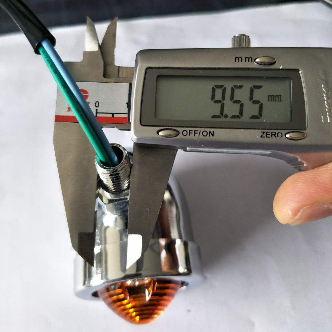 DealMux metal con resorte de calzado el/éctrico freno de la motocicleta tambor trasero Pad para CG125
