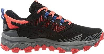 ASICS Damen Gel Fujitrabuco 8 Running Shoe, Schwarz