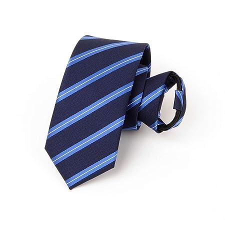 Corbata/Traje Corbata/Rayas Azules de los Hombres/Color sólido Dos ...