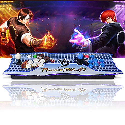 XFUNY Arcade Game Console 2 Players Pandora's Box 815 Games Home Game Station Support HDMI & VGA & USB Output Monitor / Projector / PC / Laptop Double Stick