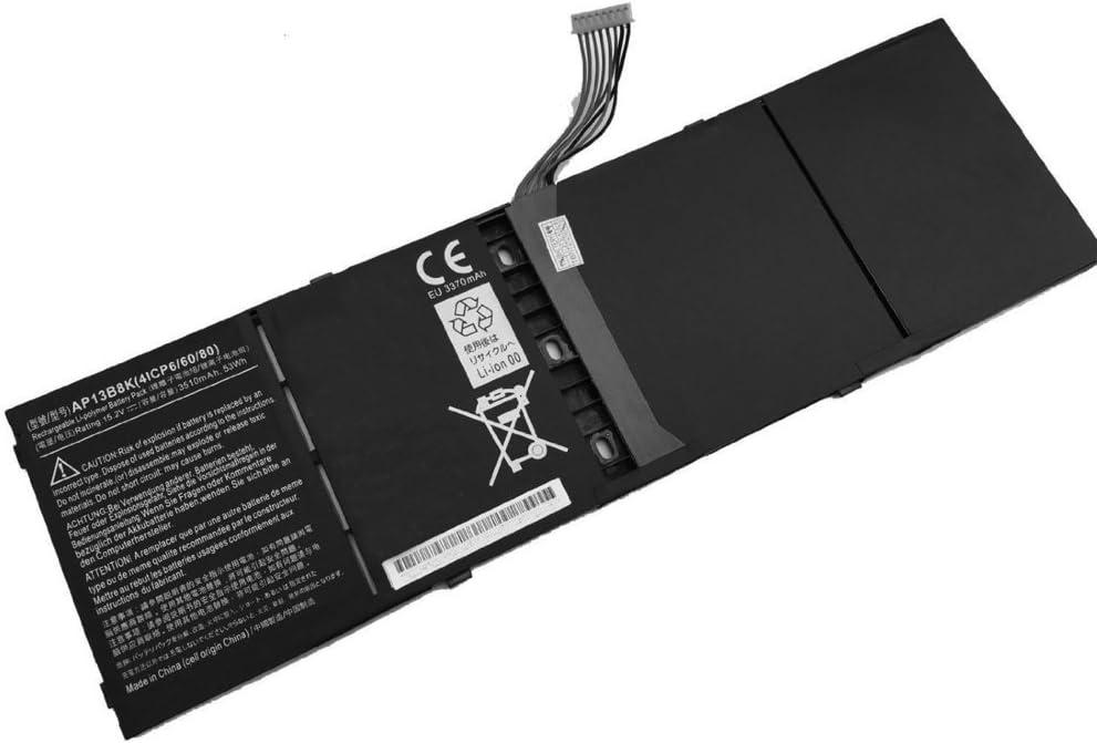 Tesurty Replacment Battery for Acer Aspire M5-583P-5859, AP13B8K Ultrabook