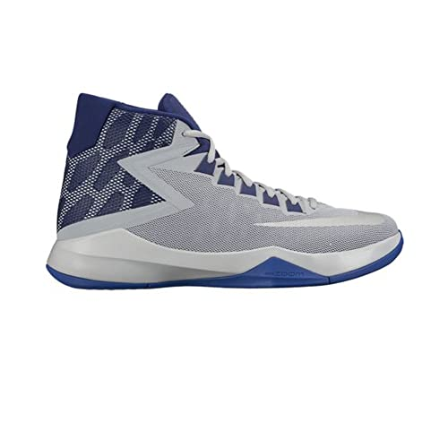 2941e0e3b79 Nike New Men s Zoom Devosion Basketball Shoe Wolf Grey Blue 13  Buy Online  at Low Prices in India - Amazon.in