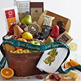 Super Snack Basket - Same Day Dried Fruit Basket Delivery - Dried Fruit Gifts - Best Dried Fruit Tray- Mixed Dried Fruit - Dried Fruit and Nut Gift Baskets