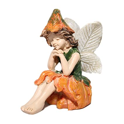 Amazon.com : Miniature Garden Fairy Kelly : Collectible Figurines : Garden  U0026 Outdoor