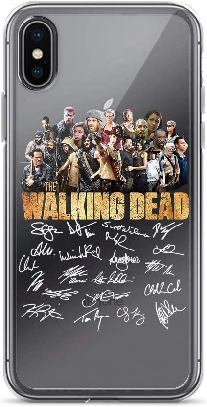 Fear The Walking Dead Autographed Signed79 Pure Clear Case Cover for iPhone 7 Plus/8 Plus