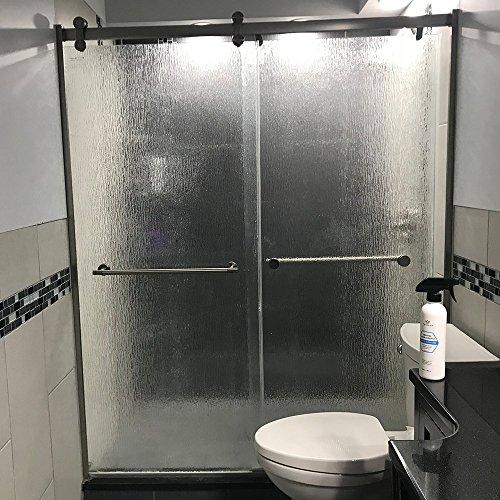 Shower Door Glass Cleaner Removes Soap Scum Mildew Mold