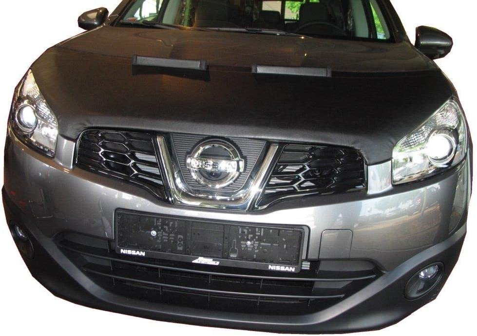 AUTO-STYLE 901806 Black Bonnet Stone Guard Cover Compatible with Dacia Sandero Stepway-2015