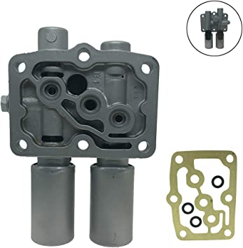 Transmission Dual Linear Solenoid with gasket Fit For Honda Acura Accord Odyssey Pilot Prelude 28250-P6H-024