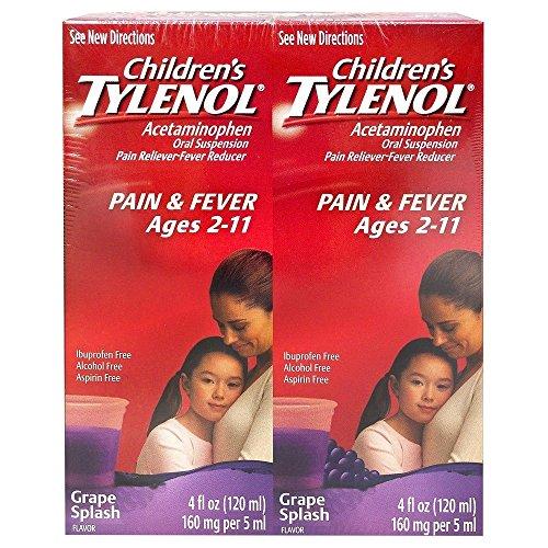 Price comparison product image Childrens Tylenol,  Grape Splash ECbHXf Flavor