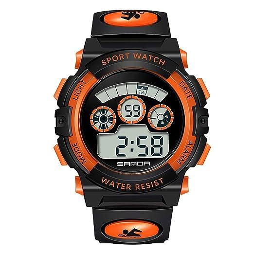 Reloj Impermeable Reloj para niños Reloj Deportivo de Cuarzo, Reloj de Cuarzo, 300 m