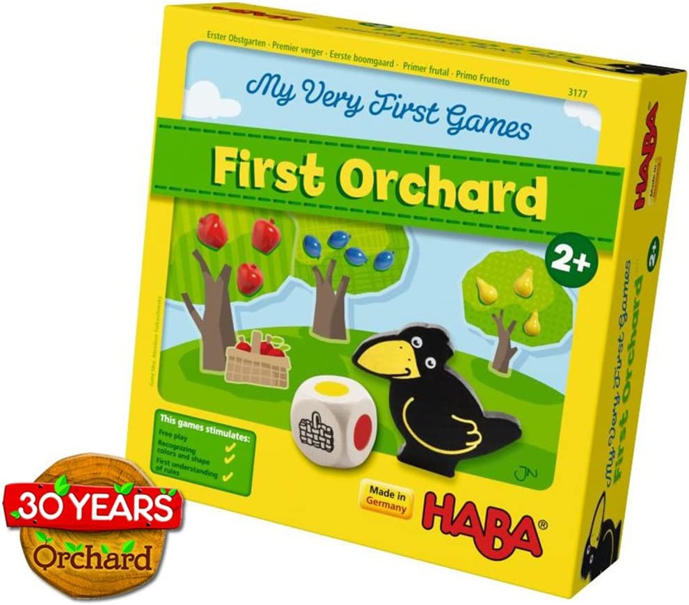 HABA My Very First Games - First Orchard Cooperative Game Celebrating 30 Years (Made in Germany)