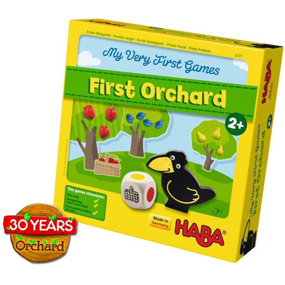 Amazon.com: HABA My Very First Games - First Orchard Cooperative ...