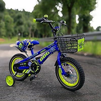 Fenfen Bicicleta luminosa para niños Bicicleta para niños de 12/14 ...