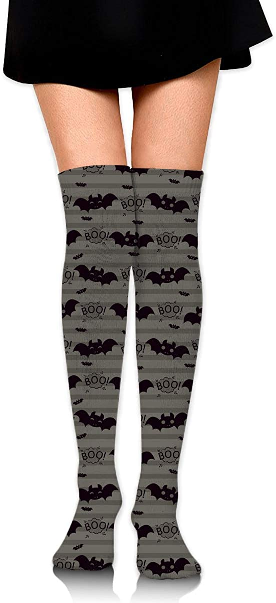 Womens//Girls Fashion Bat Style Casual Socks Yoga Socks Over The Knee High Socks 23.6
