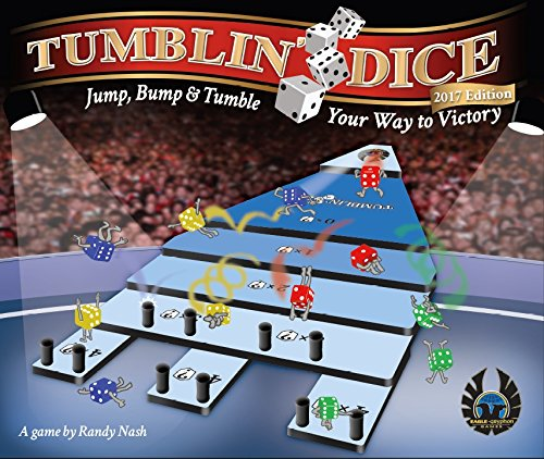 Eagle-Gryphon Games Tumblin' Dice 2017 Edition Dice Board Game ()