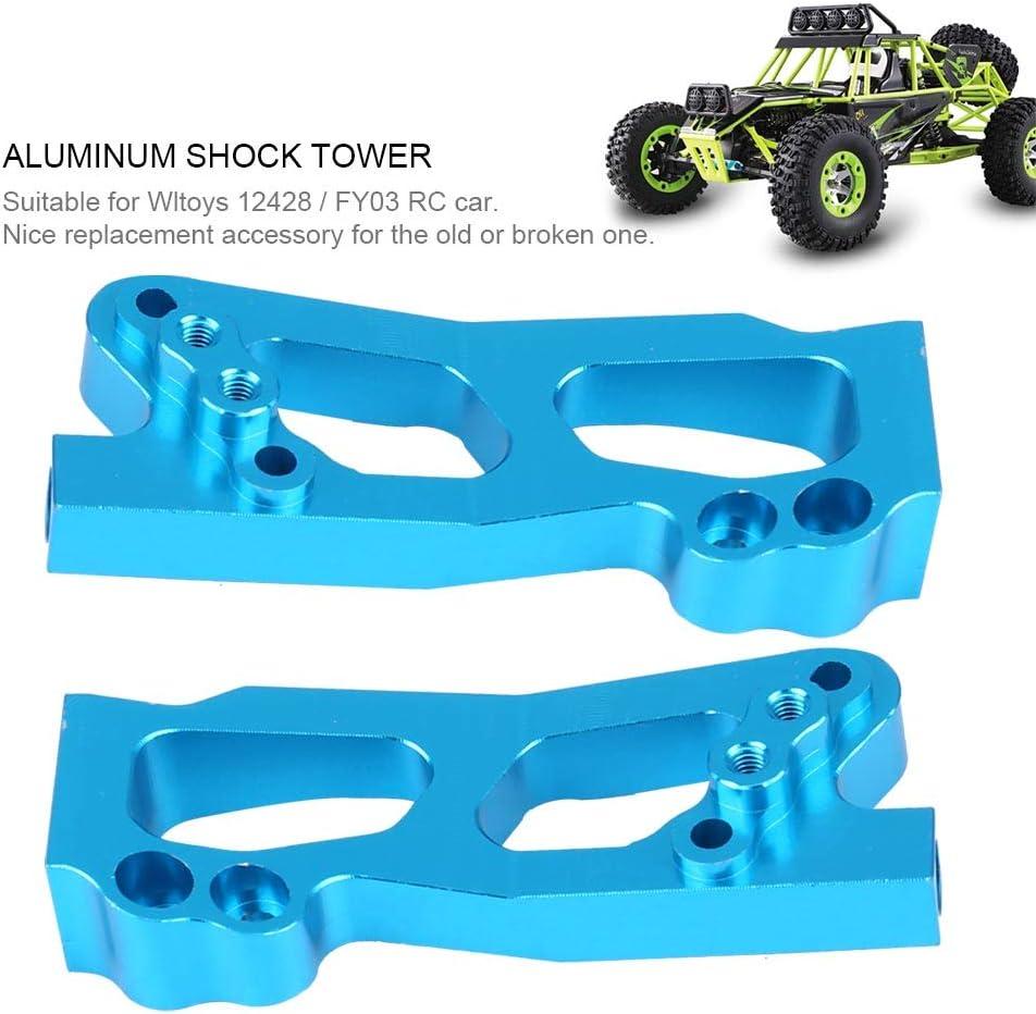 Dilwe Rc Shock Tower Aluminiumlegierung Shock Tower Für Wltoys 12428 Fy03 Rc Car Upgrade Zubehör Spielzeug