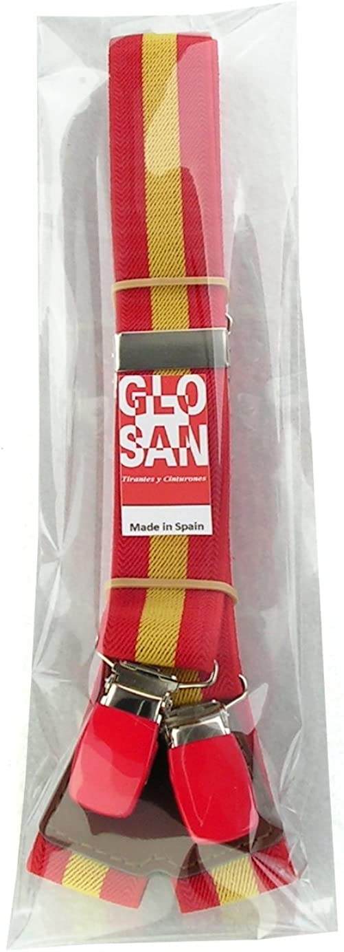 GLOSAN Tirante Bandera Española: Amazon.es: Ropa y accesorios