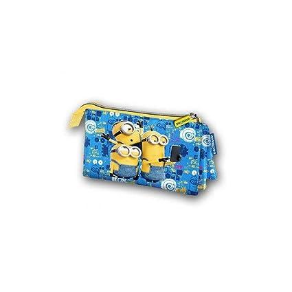 Karactermania Minions Selfie Estuches, 24 cm, Azul