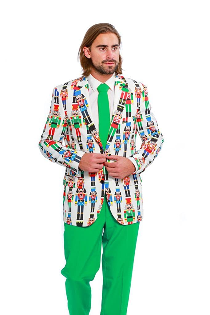 2fa6ef940 Shinesty Ugly Christmas Suit Jacket and Tie For Men - The Nutcracker ...