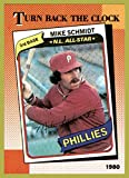 1990 Topps #662 Mike Schmidt 1980 TURN BACK THE CLOCK HOF PHILADELPHIA PHILLIES