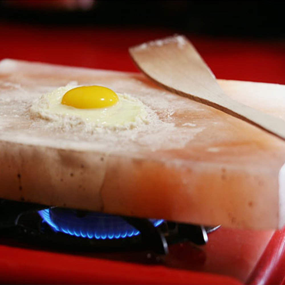 9x18x2 Himalayan Salt Plate Exclusively By the Black Tai Salt Company Extra Large!