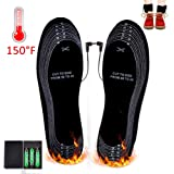 Heated Insoles,Kamlif Cut-to-Fit Multiple Sizes Unisex Battery Operated Winter Heated Shoes Insoles