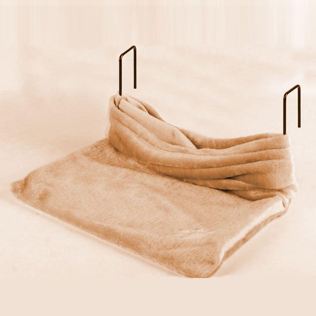 Cat Bed Warm Pet Bed Plush Basket Cradle Animal Puppy Hammock