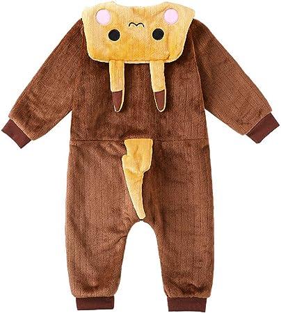 Los niños del saco de dormir, los niños del mono para niño y niña en 3-
