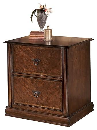 Ashley Furniture Signature Design   Hamlyn File Cabinet   2 Drawer    European Flair   Medium
