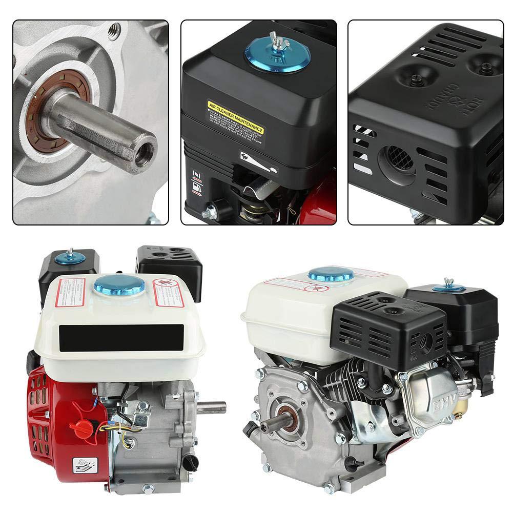 Motor de gasolina de 4 tiempos, 6,5 HP combustión para máquina ...