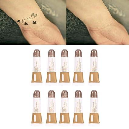 10pcs/set Ungüentos para tatuajes, Reparación de maquillaje ...