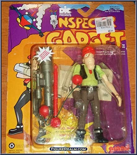 Inspector Gadget, M.A.D. Agent with Spring-Loaded Bazooka! Figure ...